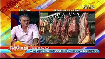 CAO: Ganaderos no fueron tomados en cuenta para fijar el precio de la carne