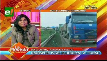 Transporte pesado: No hay democracia, estamos en un país dictatorial