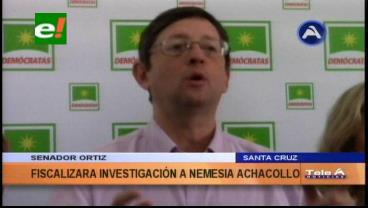 Caso Fondioc: Senador Ortiz fiscalizará investigación a Nemesia Achacollo