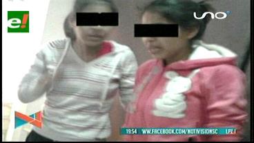 Aprehenden a las dos niñeras que maltrataron a mellizos de un año