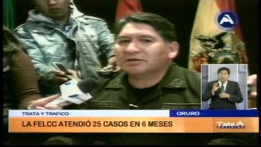 Consejo de Trata y Tráfico de Personas entregará material de prevención a la población de Oruro