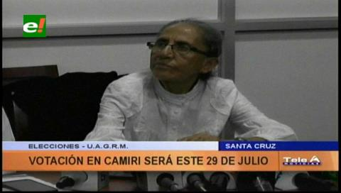 Uagrm: Viernes posesionarán a decanos y se realizará elecciones en Camiri
