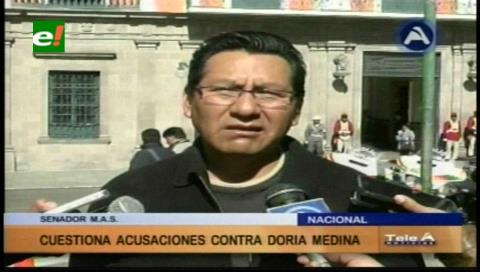 Senador Joaquino cuestiona acusación de la ministra Paco contra Doria Medina