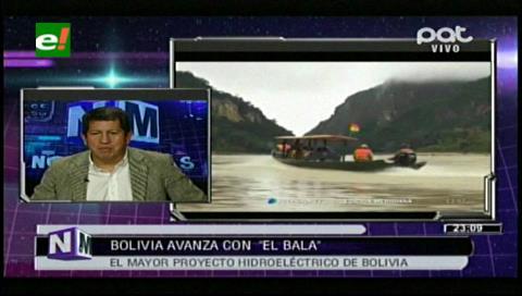 """Ministro Sánchez y el proyecto """"El Bala"""": La Paz decidirá si será o no el centro energético de Bolivia"""