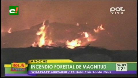 """Quema de basura origina un incendio en el barrio """"Los Vallecitos"""""""