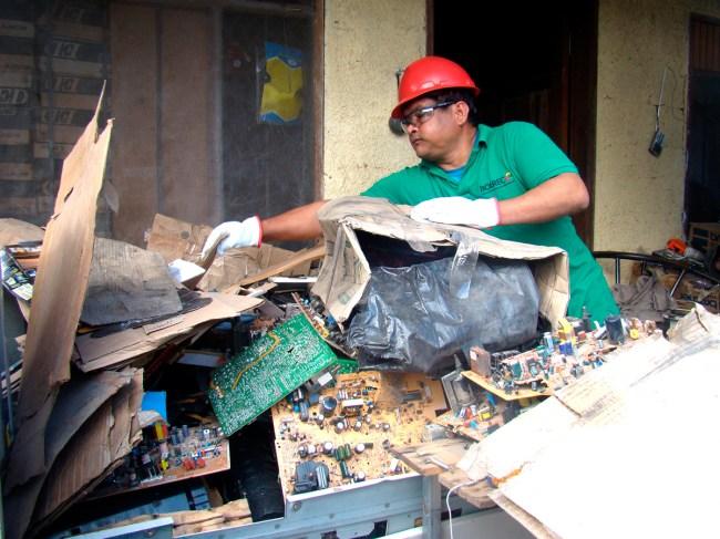 residuos electricos