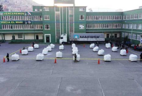 La droga se presentó ayer en La Paz