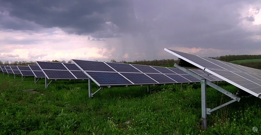 Granja solar Chernobyl