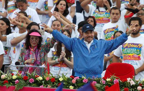 El presidente de Nicaragua, Daniel Ortega. Foto: globovision.com/