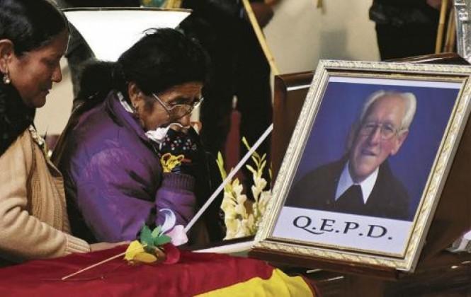 Confirman que el padre Obermaier será enterrado en la iglesia Cuerpo de Cristo