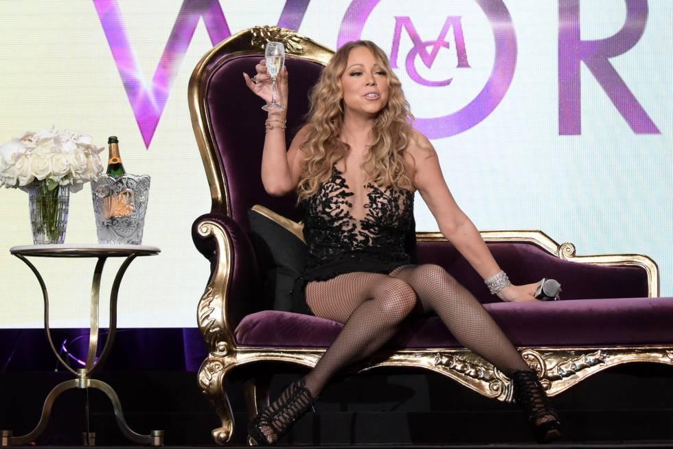 La cnatante Mariah Carey.