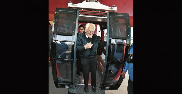 El padre Sebastián Obermaier soñaba con El Alto más ordenado