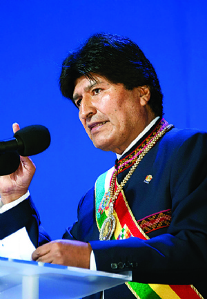"""Evo a Chile: """"Ya no nos vamos a callar... Bolivia se respeta"""""""