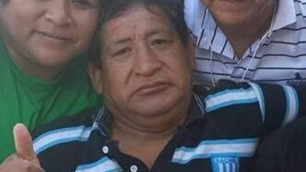 """Víctima. Orlando """"Chino"""" Casimiro Doza (57), tenía dos hijos."""