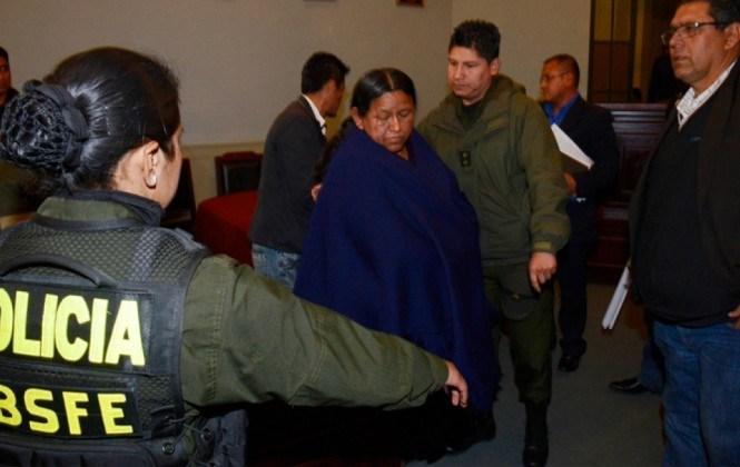"""Juez dice que """"no hay plata"""" para trasladar a Achacollo a la cárcel de Palmasola"""