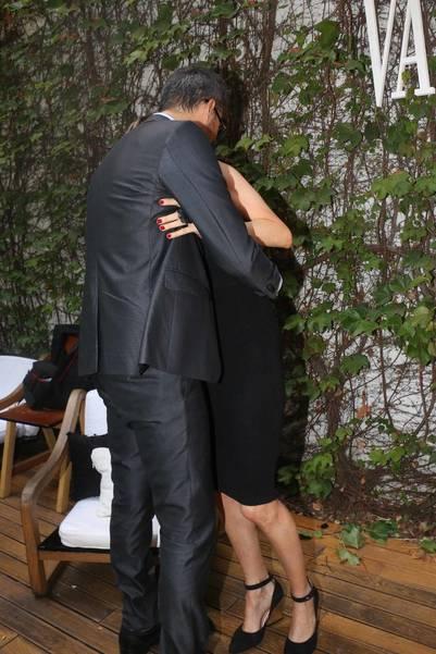 Tinelli y Valdes a los besos en la apertura del BAFWeek