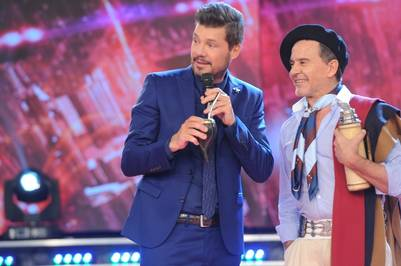 showmatch 2016 Marcelo Tinelli Osvaldo Laport