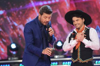 showmatch 2016 Marcelo Tinelli Agustín Casanova cantante de Marama