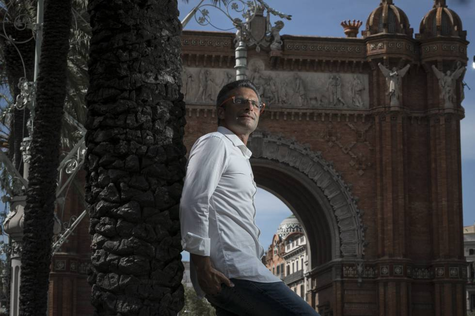 Krzysztof Charamsa en Barcelona.