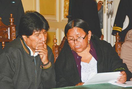Duró cinco años y ocho meses en el gabinete de Evo Morales y era elogiada por sus logros en el relacionamiento con los productores