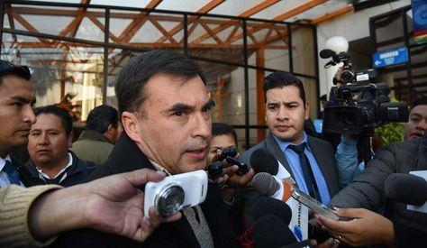 Juan Ramón Quintana, ministro de la Presidencia. Foto: La Razón