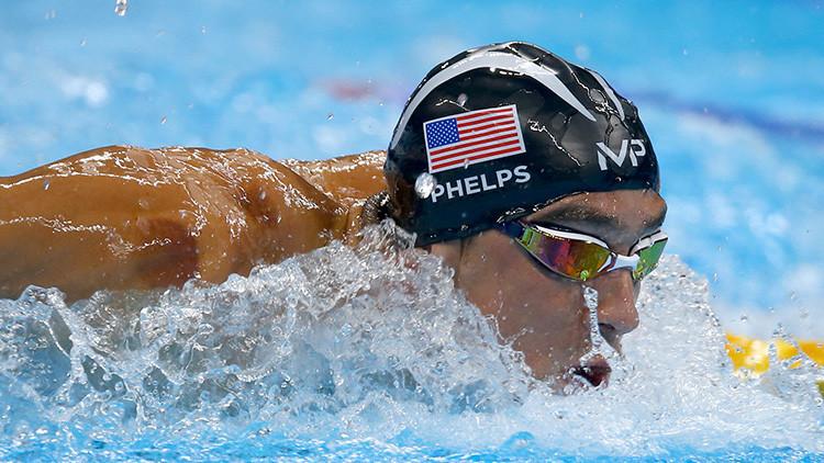 El nadador estadounidense Michael Phelps