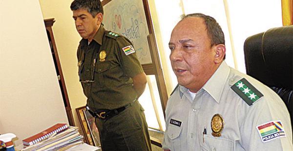 El comandante Guzmán mandó refuerzos al reformatorio juvenil
