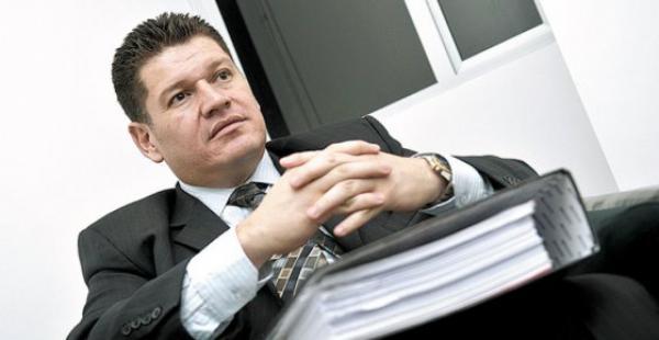El exmagistrado Ariel Rocha, acusado de ser parte de la red que extorsionó a Jacob Ostreicher