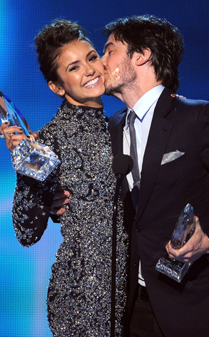 Nina Dobrev, Ian Somerhalder, People