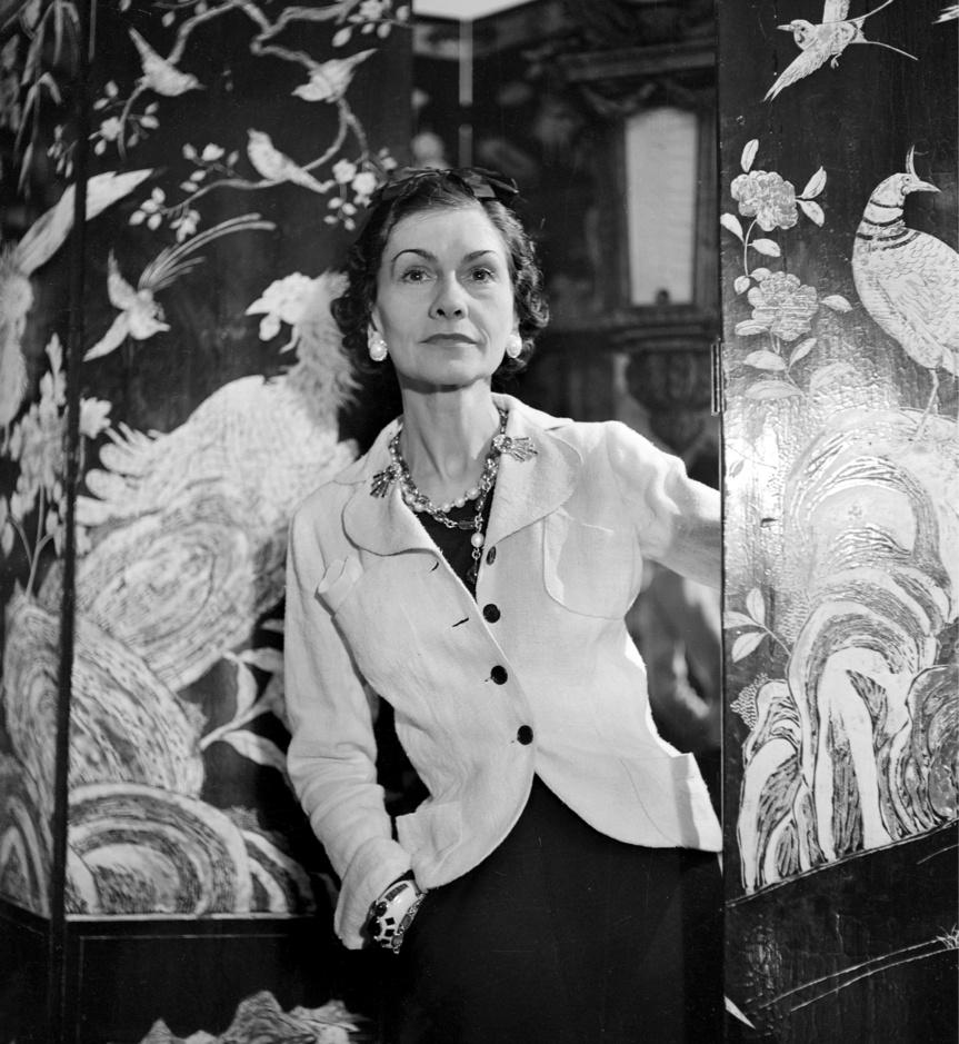 La diseñadora Coco Chanel