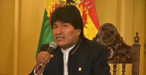 Evo Morales habló desde Cochabamba sobre el conflicto con los cooperativistas