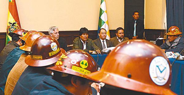 Los mineros tienen poder político