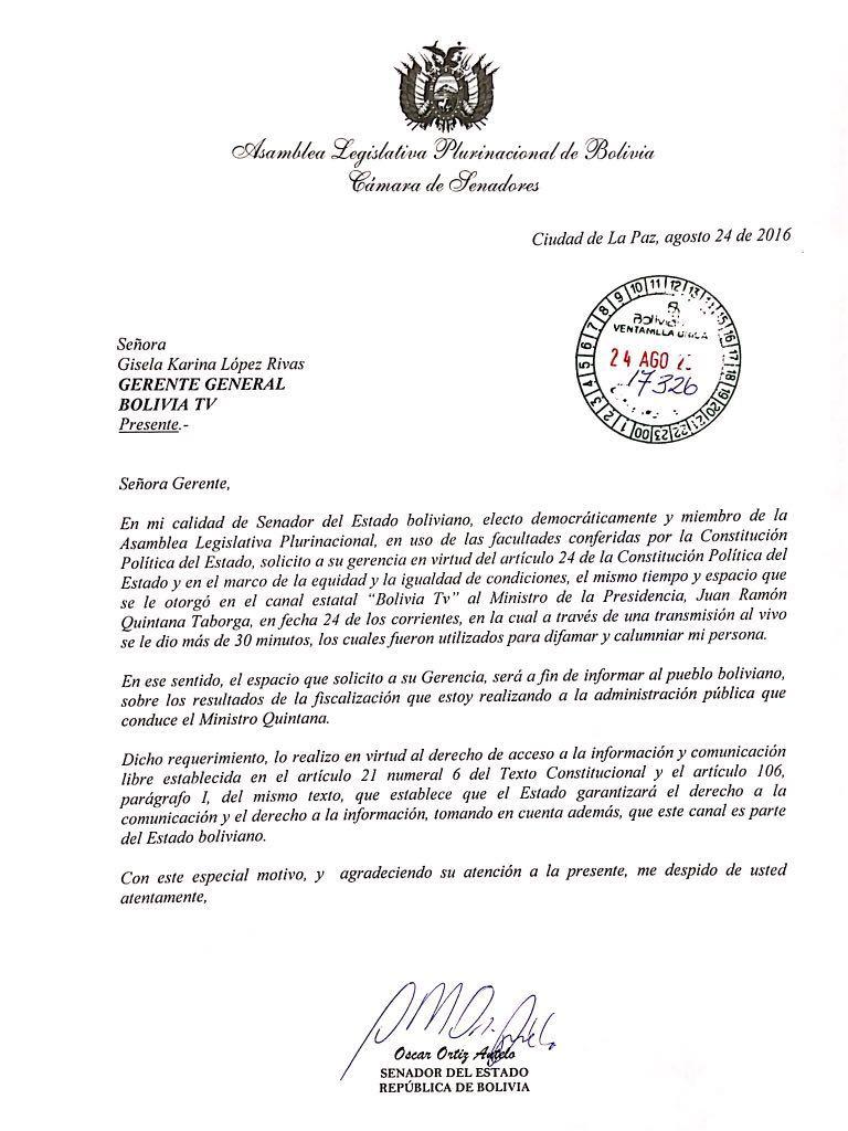 Carta Ortiz