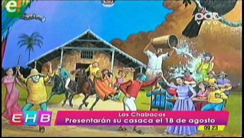 Los Chabacos quieren ser los mejores coronadores del carnaval