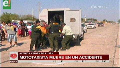 Mototaxista murió al chocar contra un camión