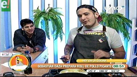 Sebastián Daza fusiona dos talentos el humor y la cocina