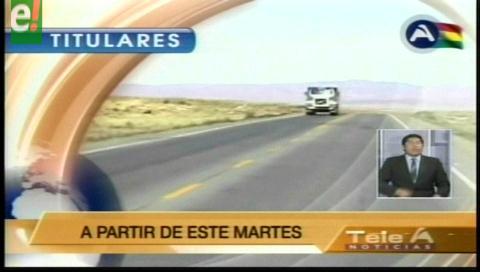 Titulares de TV: Cooperativas mineras convocan a bloqueo de caminos