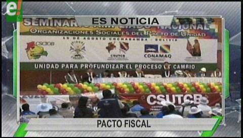 Titulares de TV: Rubén Costas asistirá a la reunión del Consejo de Autonomías