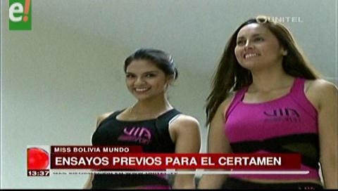 Mañana es la antesala del Miss Bolivia Mundo 2016
