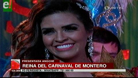 Montero presentó oficialmente a la Reina del Carnaval 2017