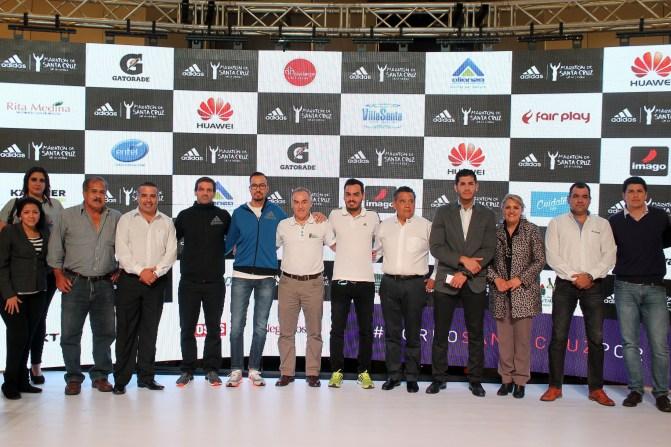 Lanzamiento oficial de la Maratón adidas de SCZ
