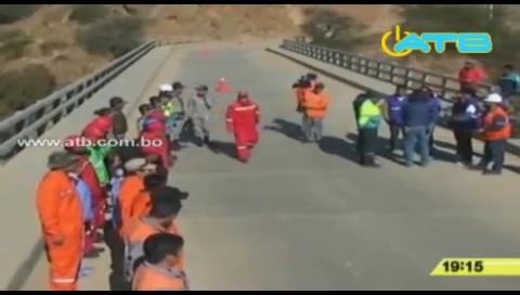 Realizaron simulacro de rescate de heridos en Tarija