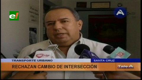 Transporte urbano rechaza los cambios en la avenida Grigotá