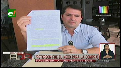"""Ex concejal Roca: """"Peterson fue el nexo para la compra del dron"""""""