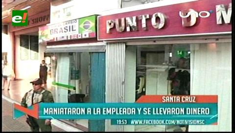 Santa Cruz: Atracan una casa de cambio en pleno centro de la ciudad