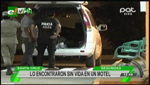 Encuentran el cadáver de un hombre en un motel