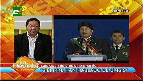 """Ministro Arce: """"Segundo aguinaldo está en veremos"""""""