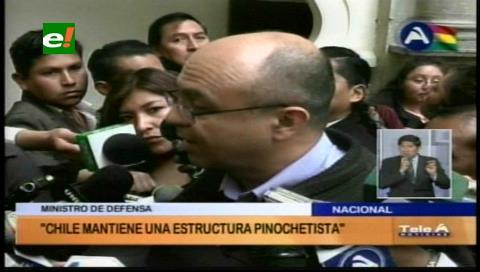 """Ministro Ferreira: """"Chile tiene una estructura pinochetista"""""""