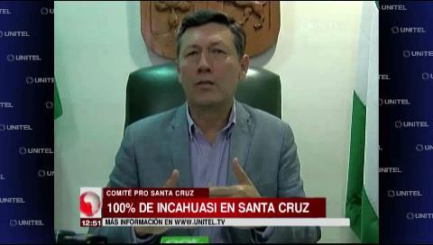 Cívicos cruceños afirman que informe sobre el Incahuasi es contundente