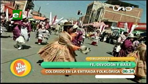 Derroche de alegría en la festividad de Urkupiña